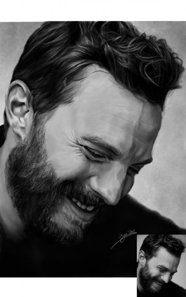 Jamie Dornan by OuyaArt